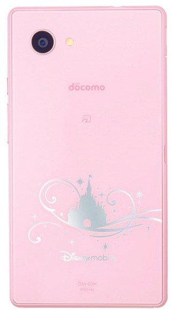 Sharp Docomo DM-01H Disney Mobile: specifications, photos