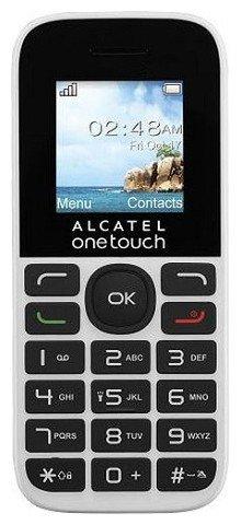 телефон alcatel one touch 1016d отзывы