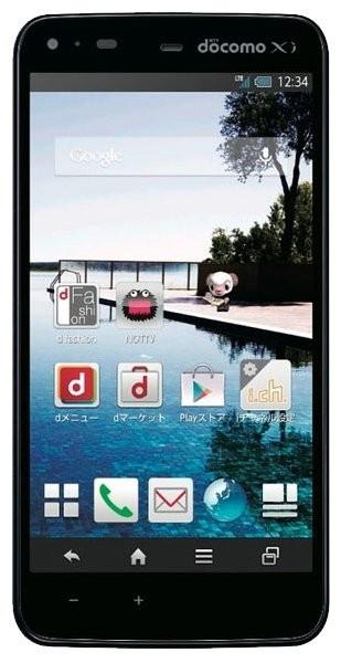 Sharp SH-01F Aquos Phone Zeta: specifications, photos