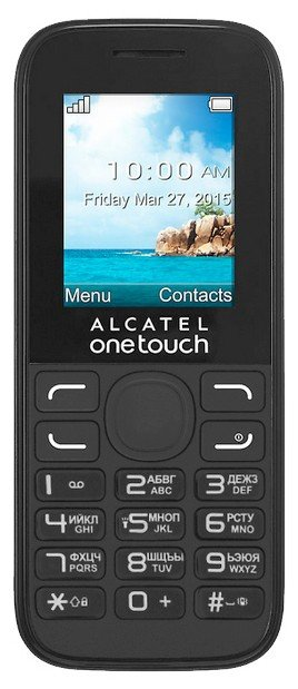 fe8c91028a334 Alcatel One Touch 1052D  specifications
